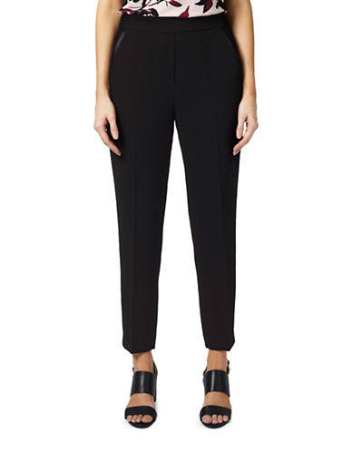 Precis Petite Elsa Dark Trousers-BLACK-UK 12/US 10