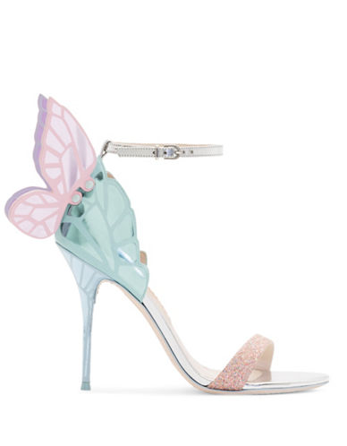 Sophia Webster Chiara Butterfly Wing Sandals-MULTI-EUR 37.5/US 7.5
