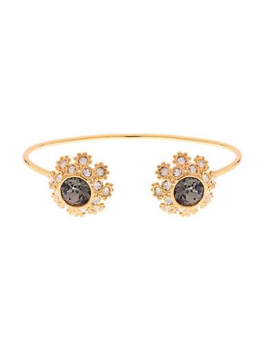 Ted Baker London Seniie Swarovski Crystal Daisy Lace Bracelet-JET-One Size