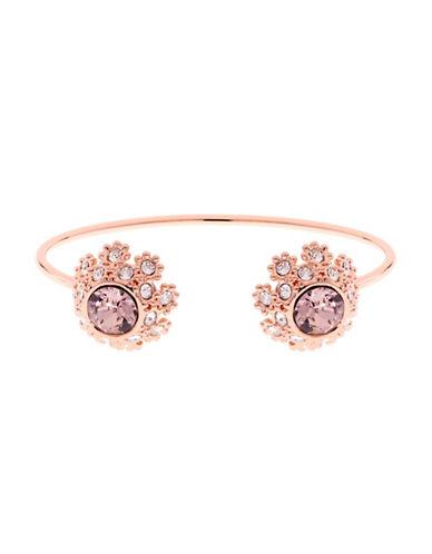 Ted Baker London Seniie Swarovski Crystal Daisy Lace Bracelet-PINK-One Size
