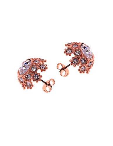 Ted Baker London Seraa Swarovski Crystal Daisy Lace Stud Earrings-PINK-One Size
