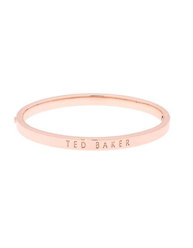 Ted Baker London Clemina Hinge Bracelet-ROSE GOLD-One Size