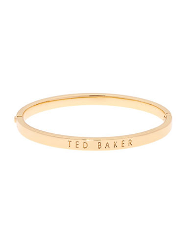 Ted Baker London Clemina Hinge Bracelet-GOLD-One Size