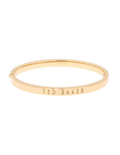 Ted Baker London Clemina Hinge Bracelet-GOLD-One Size