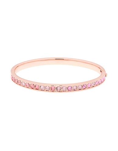 Ted Baker London Crystal & Pearl Bangle Bracelet-LIGHT PINK-One Size