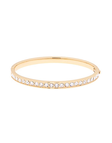 Ted Baker London Clemara Swarovski Crystal Hinge Bracelet-GOLD-One Size