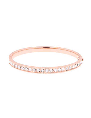 Ted Baker London Clemara Swarovski Crystal Hinge Bracelet-ROSE GOLD-One Size