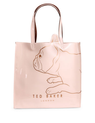 Ted Baker London Dog Motif Large Tote-PINK-One Size
