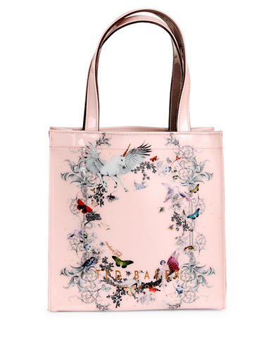 Ted Baker London Enchanted Dream Small Tote-PINK-One Size