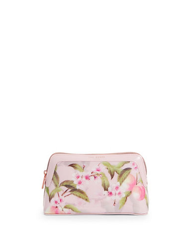 Ted Baker London Peach Blossom Makeup Bag-LIGHT PINK-One Size