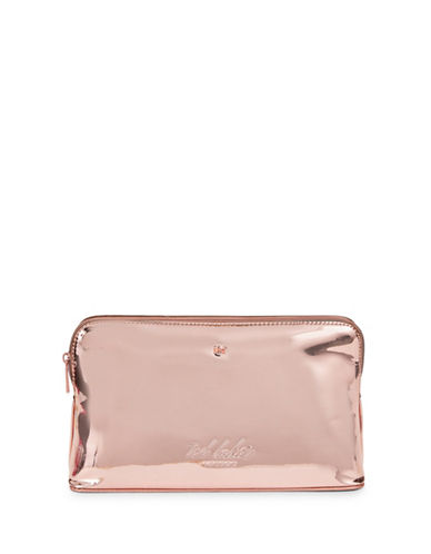 Ted Baker London Mini Bow Wash Bag-ROSE GOLD-One Size