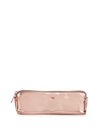 Ted Baker London Mini Bow Pencil Case-ROSE GOLD-One Size