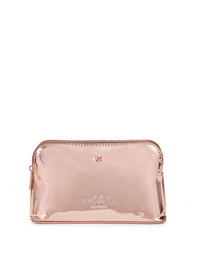 Ted Baker London Mini Bow Cosmetic Pouch-ROSE GOLD-One Size