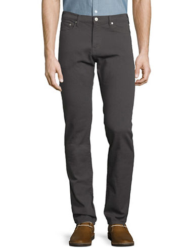 Ps By Paul Smith Standard Slim-Fit Jeans-GREY-32