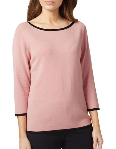 Precis Petite Boatneck Sweater-LIGHT PINK-Large