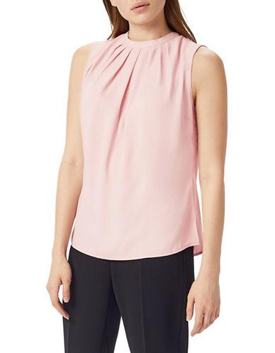 Precis Petite Tie-Back Blouse-PINK-UK 12/US 10