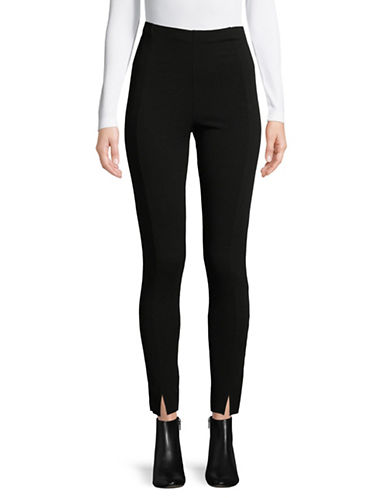 Missguided Skinny Fit Cigarette Pants-BLACK-UK 8/US 4