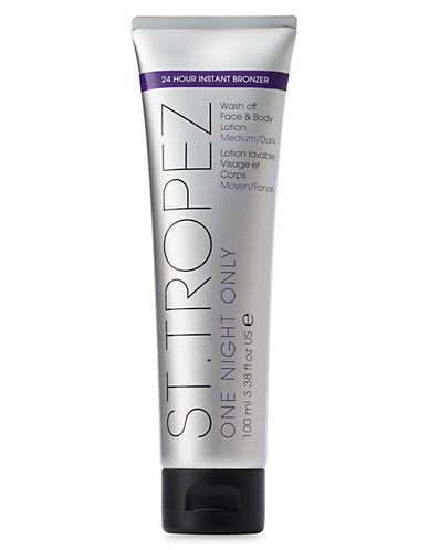 St. Tropez One Night Only Wash-Off Face and Body Lotion-LIGHT-MEDIUM-120 ml