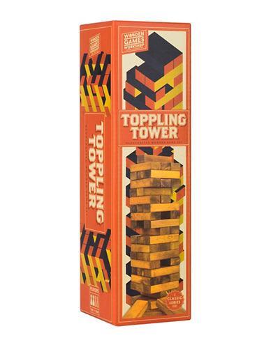 Professor Puzzle Handcrafted Wooden Toppling Tower Set-MULTI-One Size