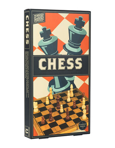 Professor Puzzle Handcrafted Wooden Chess Set-MULTI-One Size