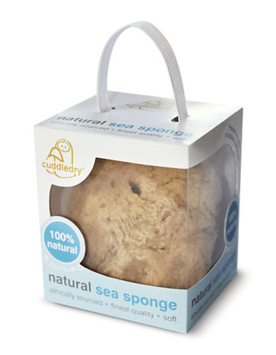 Cuddledry Natural Sea Sponge-NATURAL-One Size