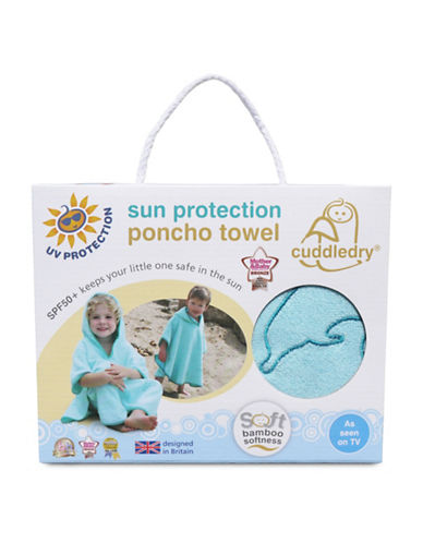 Cuddledry Sun Protection Beach or Pool Poncho-TURQUOISE-One Size