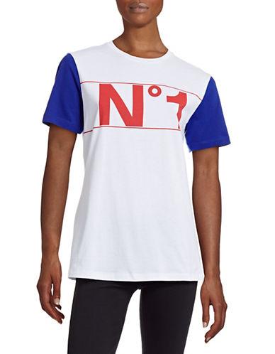 Etre Cecile No 1 Colourblock T-Shirt-WHITE-X-Small 88430299_WHITE_X-Small