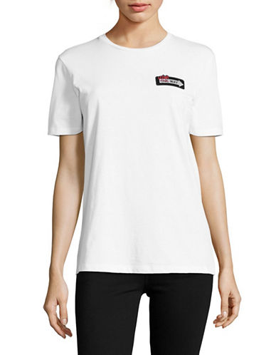Etre Cecile Now Closed Forever T-Shirt-WHITE-X-Small 89087012_WHITE_X-Small