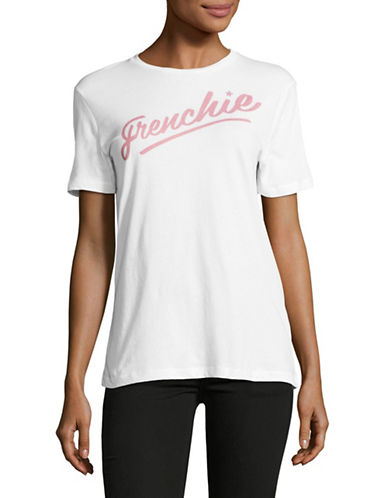 Etre Cecile Frenchie Cotton Tee-WHITE-X-Small