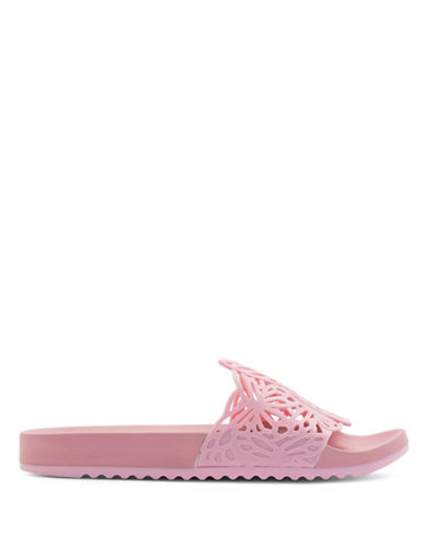 Sophia Webster Lia Butterfly Slides-PINK-EUR 40/US 10