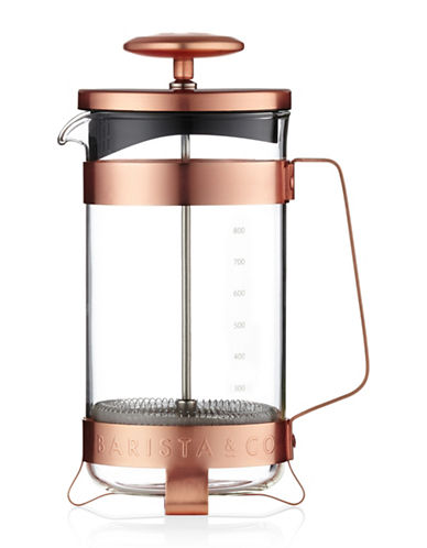 Barista Stainless Steel French Press-COPPER-One Size