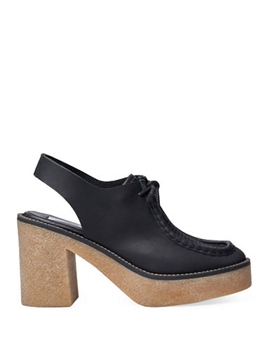 Miista Siobhan Leather Platform Loafers-BLACK-EUR 41/US 10