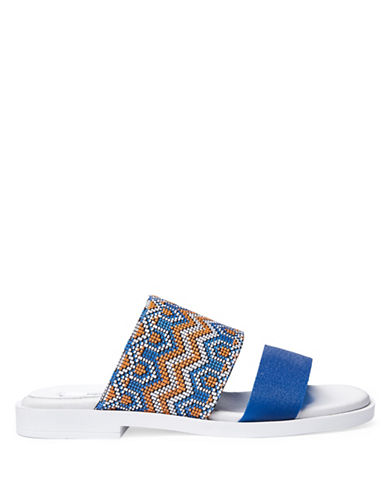 Miista Amanda Printed Leather Sandals-BLUE-EUR 36/US 6