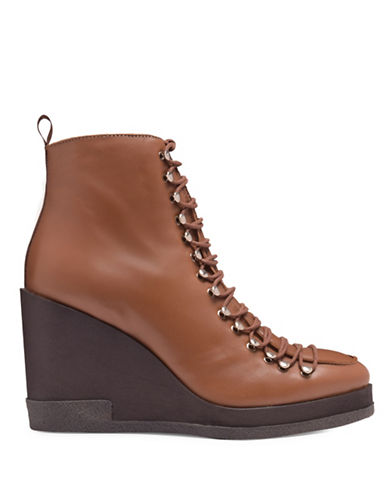 Miista Jada Leather Wedge Boots-BROWN-EUR 36/US 6