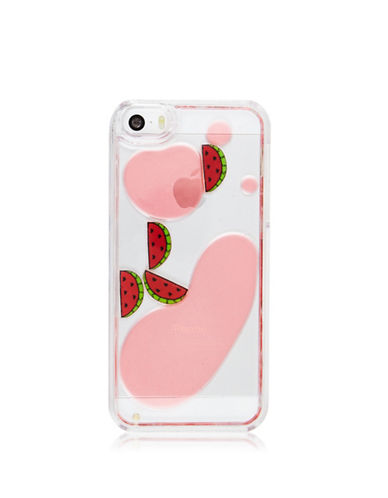 Skinnydip iPhone SE, 5 and 5S Watermelon Charm Case-MULTI-One Size