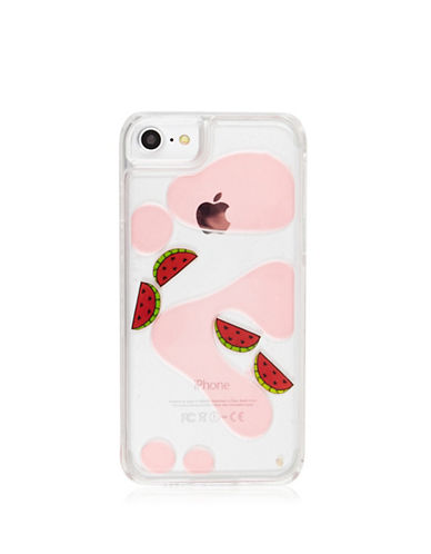 Skinnydip iPhone 6, 6S and 7 Watermelon Charm Case-PINK-One Size