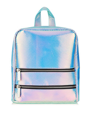 Skinnydip Holographic Cat Backpack-MULTI-One Size