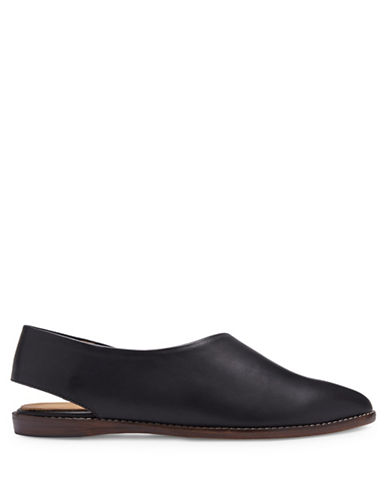 Miista Gala Cut-Out Leather Slip-Ons-BLACK-EUR 39/US 9
