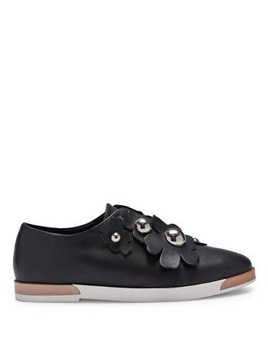 Miista Blanche Floral Leather Oxfords-BLACK-EUR 35/US 5