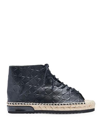 Miista Imogen Leather Espadrille Sneakers-GREY-EUR 36/US 6