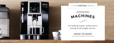 espresso machine shop