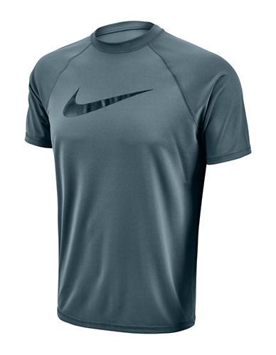 Nike Hydro UV Liquid Swoosh Short Sleeve T-Shirt-BLUE GREY-Large 88502212_BLUE GREY_Large
