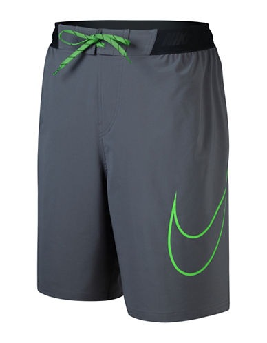 Nike Big Swoosh Trainer E-Board Shorts-DARK GREY-Small 88502206_DARK GREY_Small