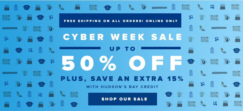 Cyber Week Sale at Hudson's Bay