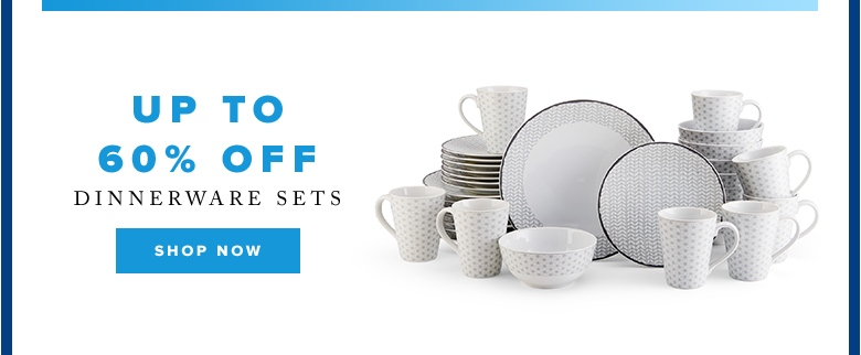 Cyber Week: Up to 60% off dinnerware sets