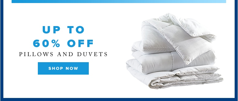 Cyber Week: Up to 60% off pillows and duvets