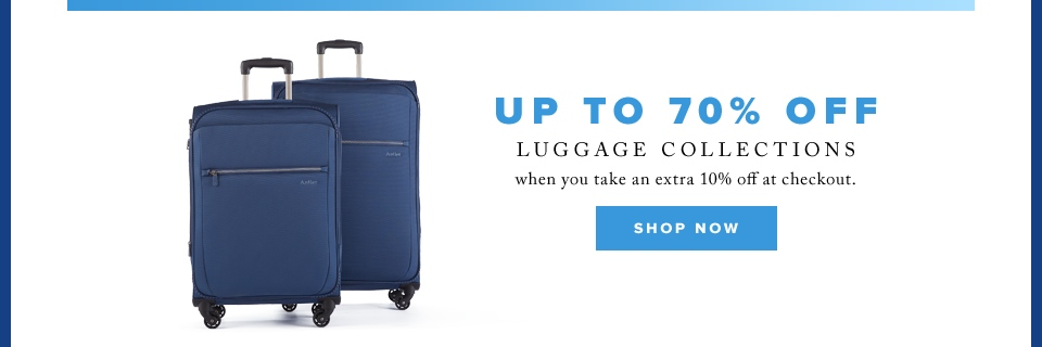 Cyber Week: Up to 70% off luggage