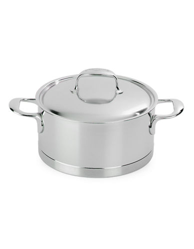 Demeyere Atlantis 1.5 L Dutch Oven and Saucepot with Lid-SILVER-One Size