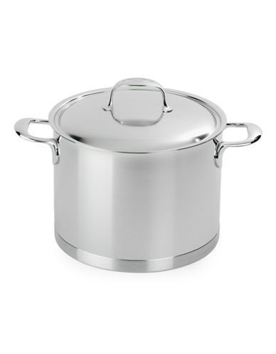 Demeyere Atlantis Five Litre Stockpot-SILVER-One Size