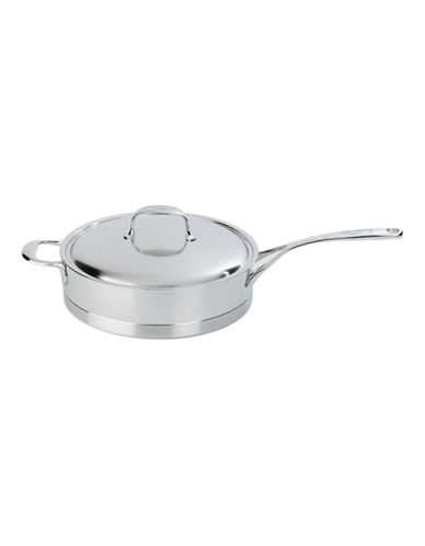 Demeyere Atlantis 4 L Low Sauté Pan with Lid-SILVER-One Size